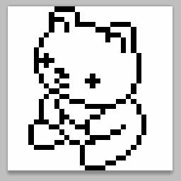 ドット絵のコツ 線の描き方編 スタッフblog